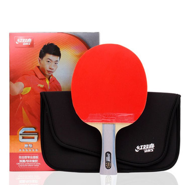 Original6002/6006 Straight/Horizontal Grip table tennis blades table tennis rackets racquet sports ping pong paddles dhs rackets #Affiliate