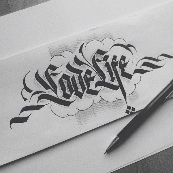 - Callygraphy byDaniel Letterman