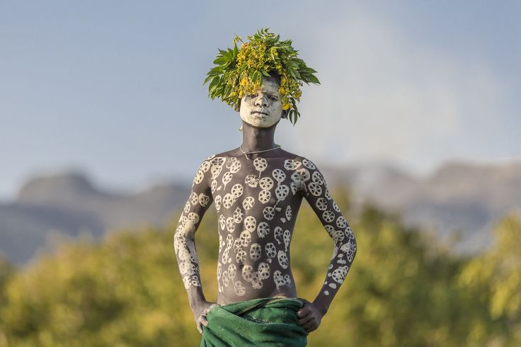 An Ethiopian boy poses for a portrait in this National Geographic Your Shot Photo of the Day.