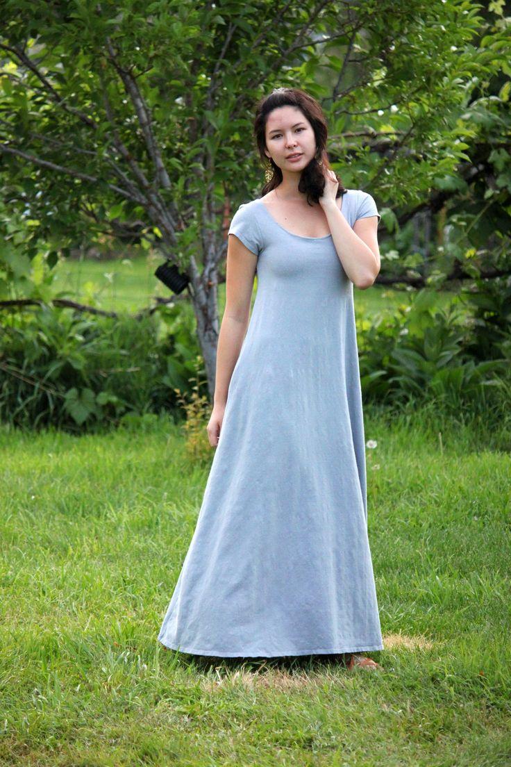 Maxi dress built in bra