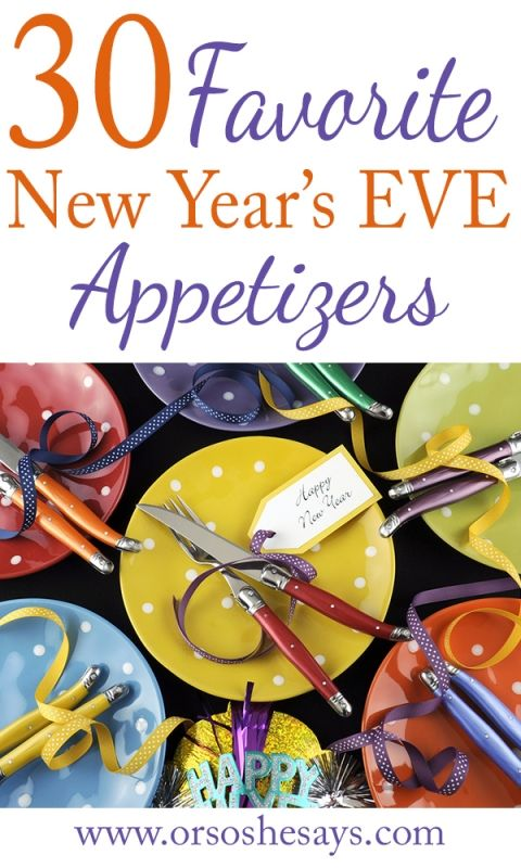 Group Games ~ Great for New Year's Eve! (and, scrumptious appetizers!) - Or so she says...