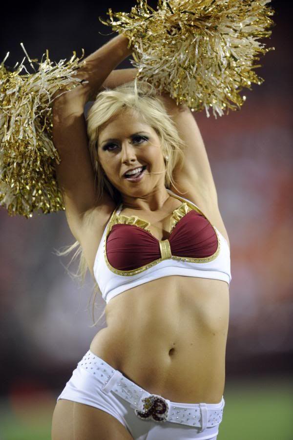 Nude cheerleaders washington redskins