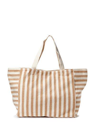Mango Striped cotton bag