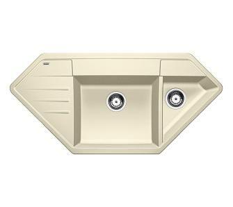 zlewozmywak narożny Blanco LEXA 9 E 515109 (jaśmin)