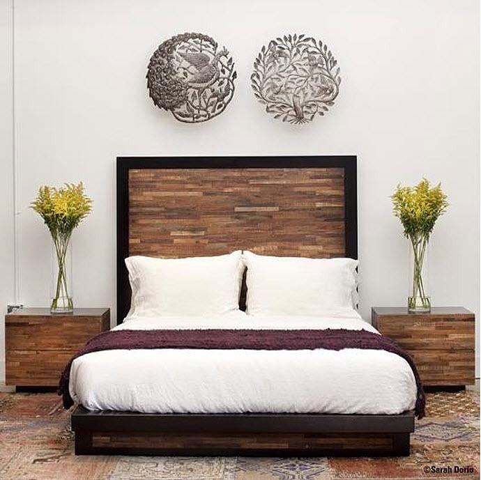 lit palettes bois design pinterest. Black Bedroom Furniture Sets. Home Design Ideas