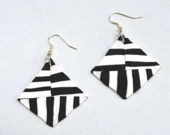 #ABSTRACT #BLACKWHITE #GEOMETRIC #EARRINGS #FASHION #FASHIONARTIST #ACCESSORIES #ONLINESHOPPING #SHOPPING #JEWELRY https://www.etsy.com/uk/listing/474136818/jewellery-handmade-geometric-earrings