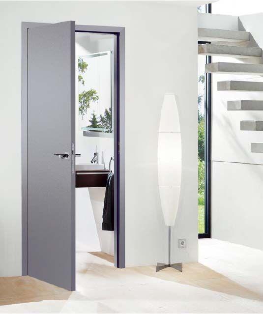 Grey door
