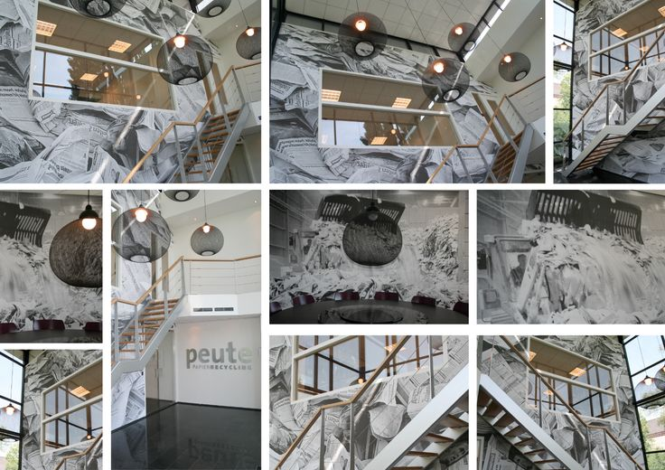 Photo wallpaper Peute Paperrecycling Dordrecht - BN Wallcoverings