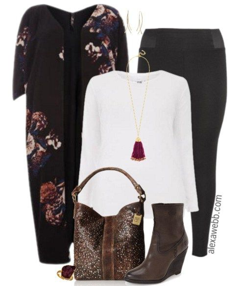 Plus Size Fashion - Plus Size Leggings Outfit - Alexa Webb - alexawebb.com #alexawebb #plussize