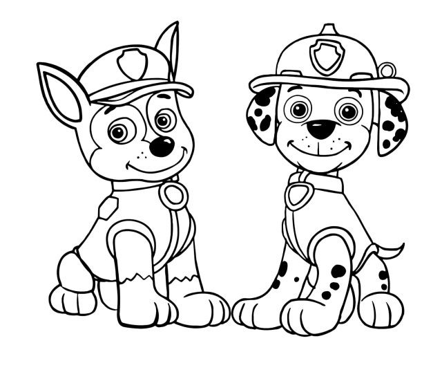 - 25+ Excellent Picture Of Chase Paw Patrol Coloring Page -  Entitlementtrap.com Paw Patrol Coloring, Paw Patrol Coloring Pages,  Marshall Paw Patrol