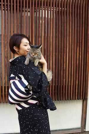 Kitty & kimono