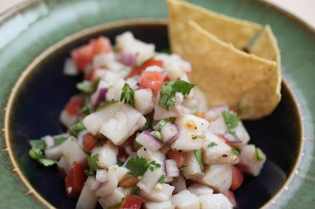 Happy Healthy Chocoholic: Tilapia Ceviche