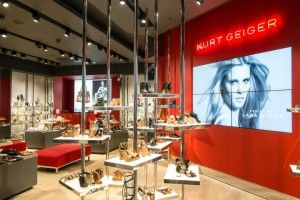Earlier this year Brown Studio completed its latest UK collaboration with Kurt Geiger – a new store at the Lakeside Shopping Centre Thurrock.