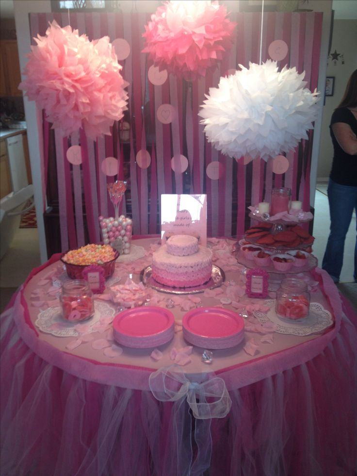 Pink Grey Aqua Baby Shower Party Ideas Aqua baby showers Pink