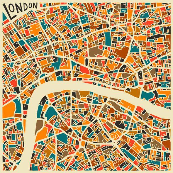 Un peu lassé de voir débarquer chaque jour des cartographies de plus en plus intrusives qui vont bien au-delà de leur fonction principale dixit Google, les graphistes de Jazzberry Blue ont pris à contre-pied cette tendance en imaginant les premières cartes abstraites…   Art à la carte De Paris à