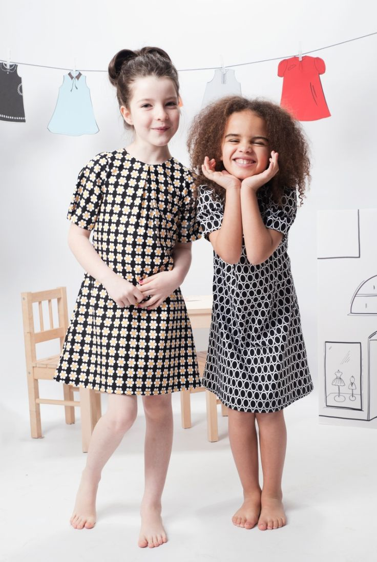 Monochromatic prints mimic adult trends for winter 2013 at Little Troll kids fashion collection