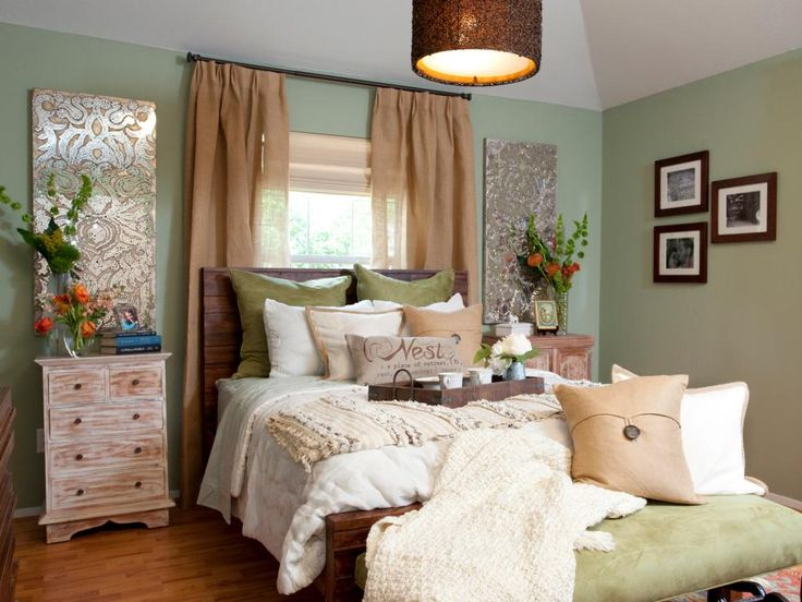 Best Hgtv Bedrooms Images On Pinterest Cozy Bedroom Master