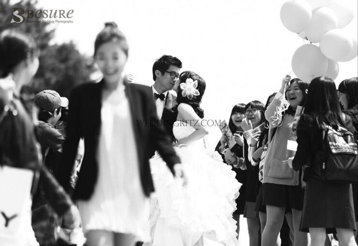 Kiss the bride- korean prewedding picture