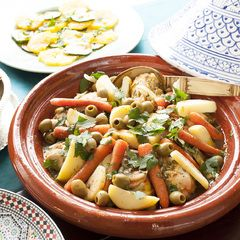 Marokkaanse tajine met kip