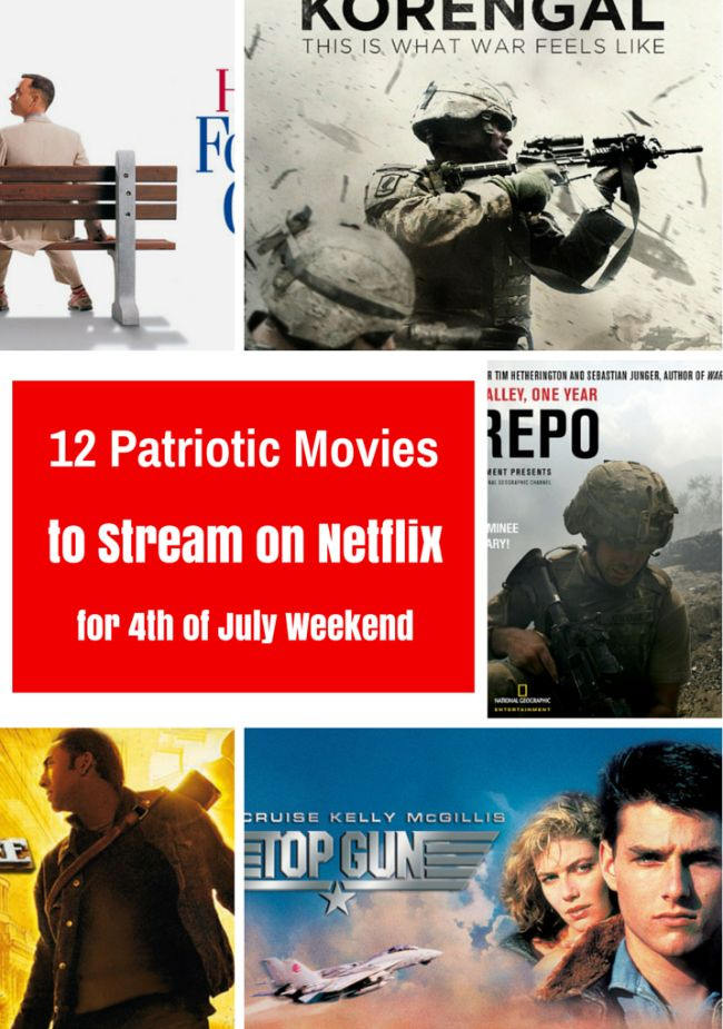 12 Patriotic Movies to Stream on Netflix for Independence Day