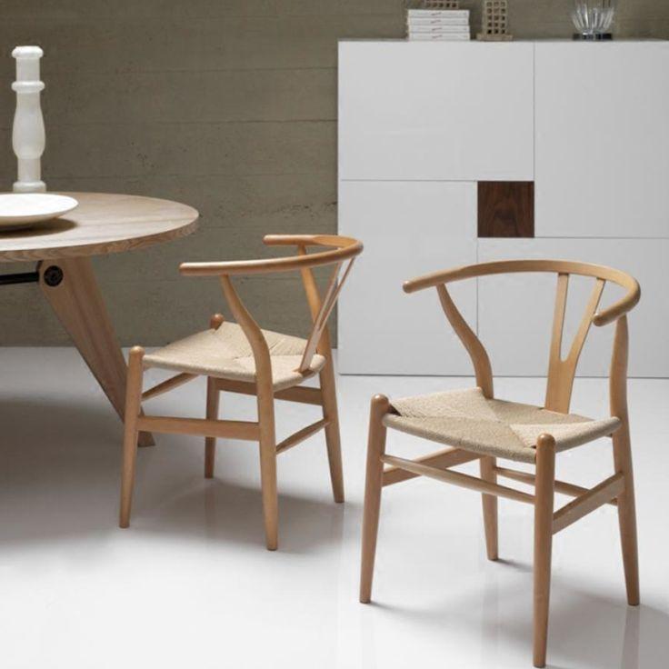 Реплика Ханс Вегнер Рычаг Y Стул современный и твердой древесины обедая стул минималистский современный стул из бука купить на AliExpress