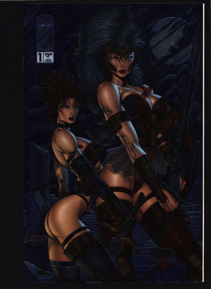 Glory/Avengelyne Robert Napton, Rob Liefeld Science Fiction Sword & Sorcery Barbarian Superhero Fantasy SF Horror Pin Up Comic Book