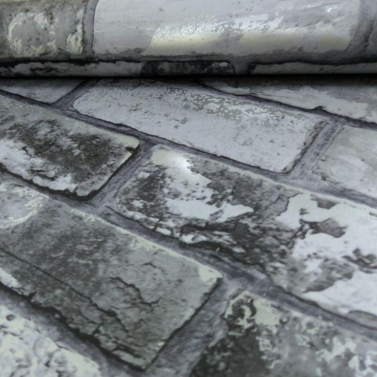 1000 ideas about papier peint effet brique on pinterest - Papier peint mosaique ...
