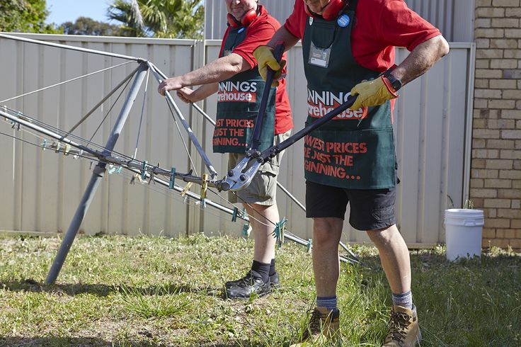 How to Remove a Rotary Clothes Lines, Step-by-Step Guide