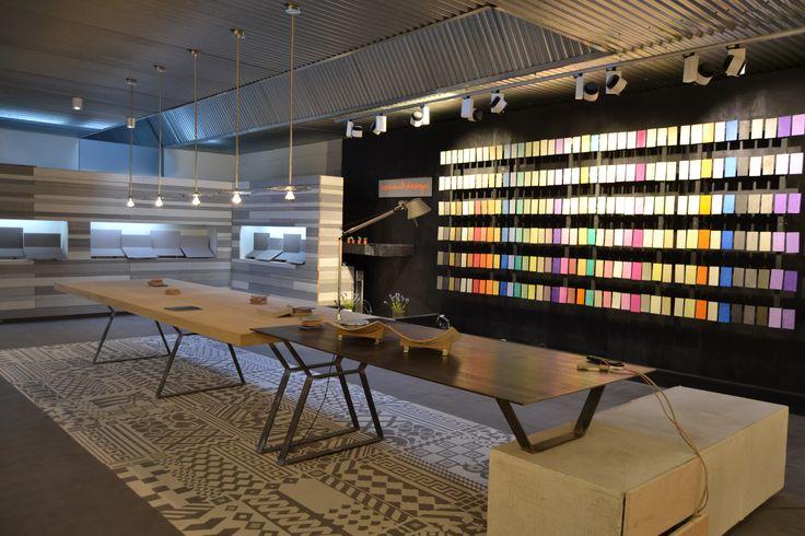 Cement Design Headquarters #cementdesign #architecture #interiorism #interiordesign #interior #showroom #shop #inspiration #flagshipstore