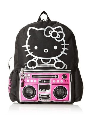 40% OFF FAB Starpoint Kid's Hello Kitty Backpack with Speakers (Multi)