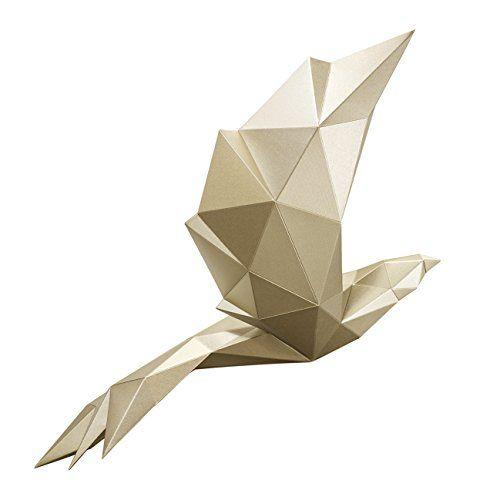 PAPA / Home Decoration DIY Paper Art - Bird Gold PAPA http://www.amazon.com/dp/B015R4LDX6/ref=cm_sw_r_pi_dp_XeQtwb1GKM15Q