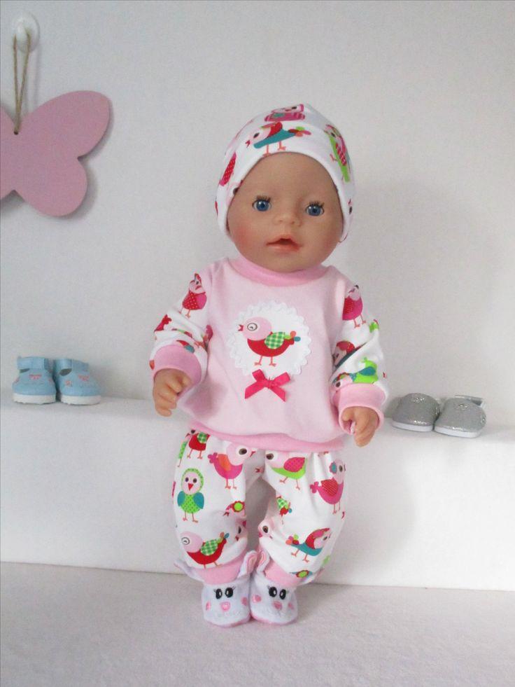 pyjama voor Baby Born Girl