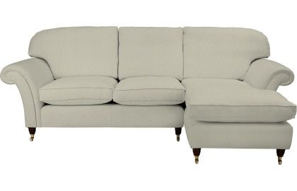 Mortimer Upholstered Chaise End Sofa - Right Hand Facing