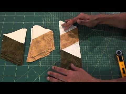 ▶ Cubos em 3D - Quilting Baby Blocks - YouTube