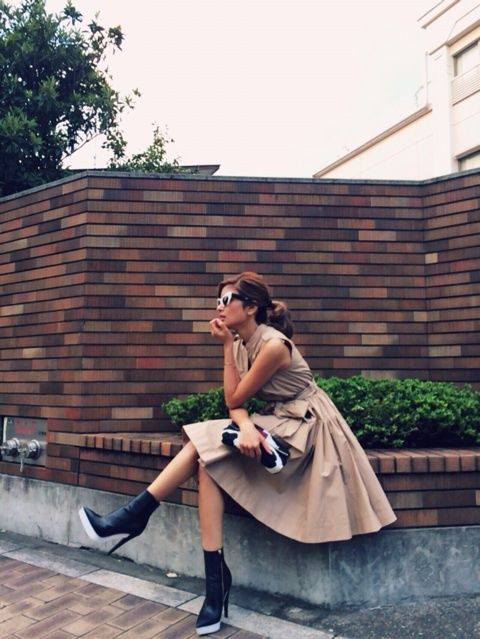 """Image of cake ♪ and nail and fall clothing 