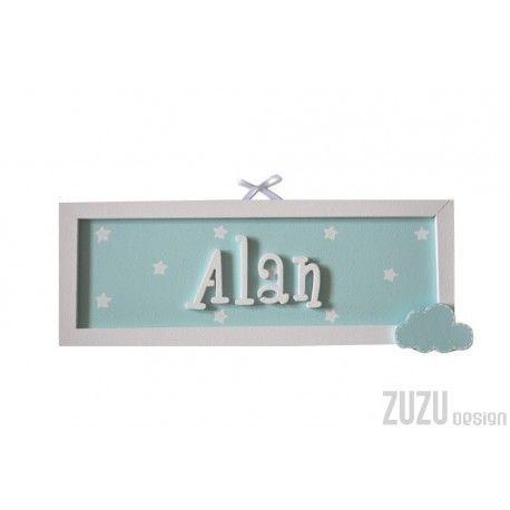 Tabliczka z imieniem dla Alana