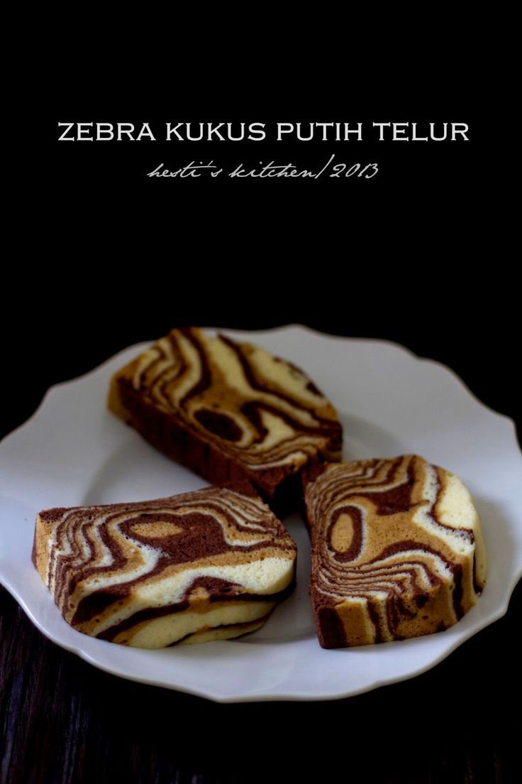 HESTI'S KITCHEN : yummy for your tummy...: Zebra Kukus Putih Telur