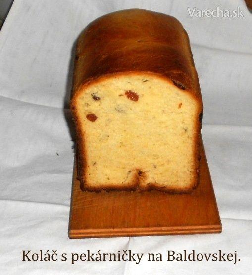 Koláč z pekárničky na Baldovskej (fotorecept)
