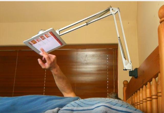 This Hovering DIY Tablet Holder is Crazy Easy to Make  - PopularMechanics.com