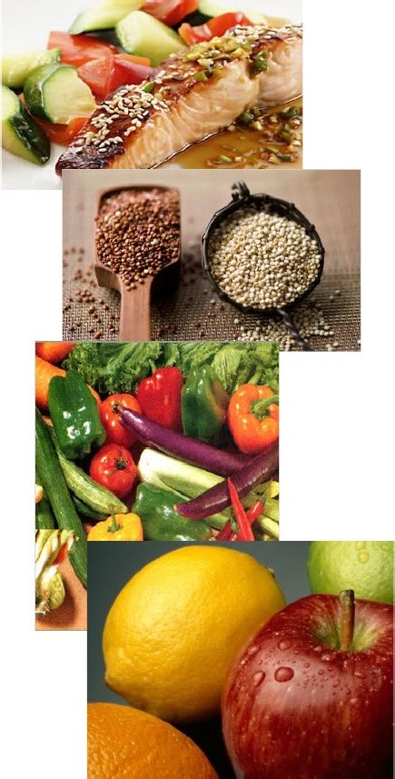 Sample Grocery List - Ideal Food for Isagenix Cleanse Shake Days