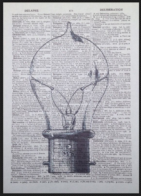 Vintage Light Bulb Print Steampunk Industrial Dictionary Page Wall Art Picture | Home, Furniture & DIY, Home Decor, Wall Hangings | eBay!
