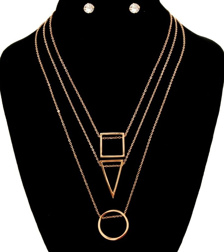 Three Pendants Necklace Set www.glamcoutureboutique.com #newarrivals #restock #bestseller #fashion #accessories #jewelry #handbags #clutches #chokers #necklaces #nyfw #nyfashionweek2016 #newyork #neworleans #fashion #trending #fall2016 #fallfashion #fashiontruck #mobiletruck #mobileboutique #shopthetruck #westopyoushop #booktheboutiquetruck #glamcoutureboutique