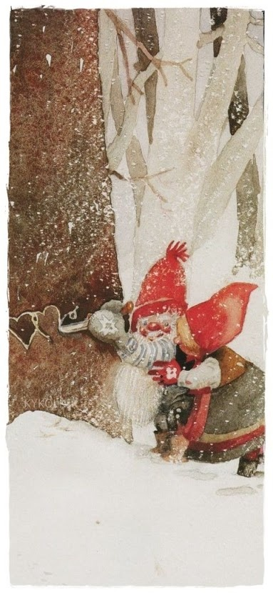 Trygve M. Davidsen (1895 - 1978).  Household Spirit