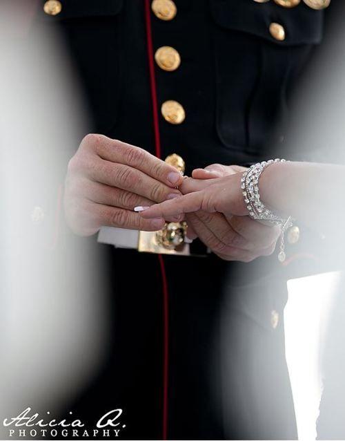 Marine wedding♥