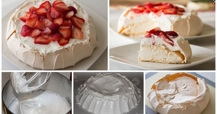 Ecco la ricetta della torta pavlova: un dessert goloso e facile da preparare, da proporre a fine pasto.