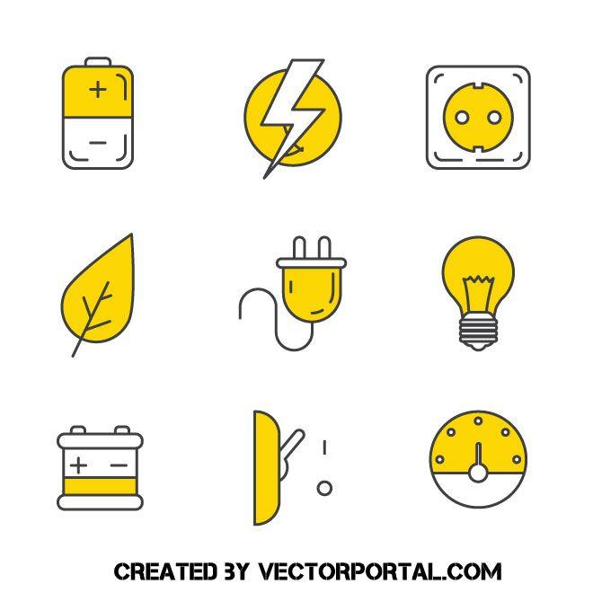 Electricity Icons V 2020 G Brendbuk Instagram Vizitki