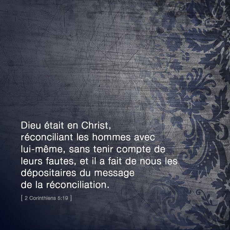 2 Corinthiens 5: 19