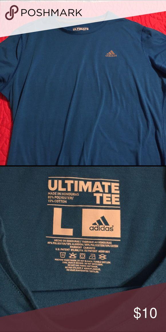 Adidas workout shirt Short sleeve workout shirt Adidas Tops Tees - Short Sleeve