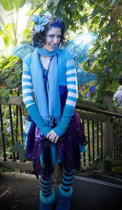 blue fairy denver botanic gardensFairies Denver, Crafts Ideas, Blue Fairies, Denver Botanical, Fae Friends, Botanical Gardens