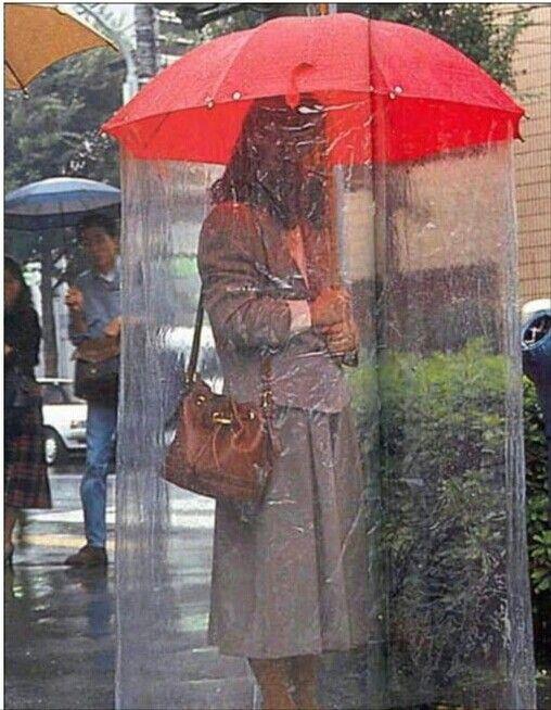 Al fin un paraguas entero!!